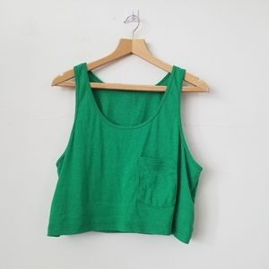 ❤3/$20 American Apparel One Sz. Cropped Top